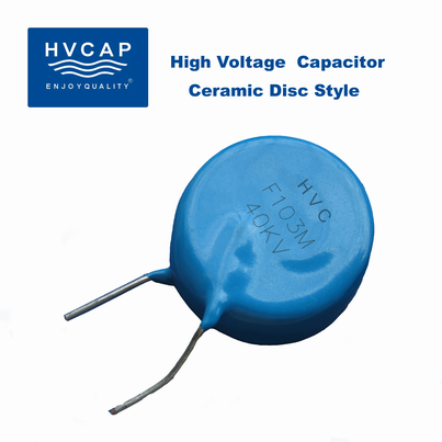 High Voltage Ceramic Disc Capacitors 1 Kvdc To 50 Kvdc Hv
