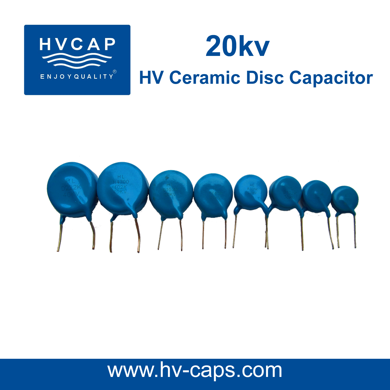 High Voltage Ceramic Capacitor 20Kv detail specification.