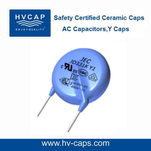 Class Y Capacitor, Safety Certified Capacitors, AC Capacitor