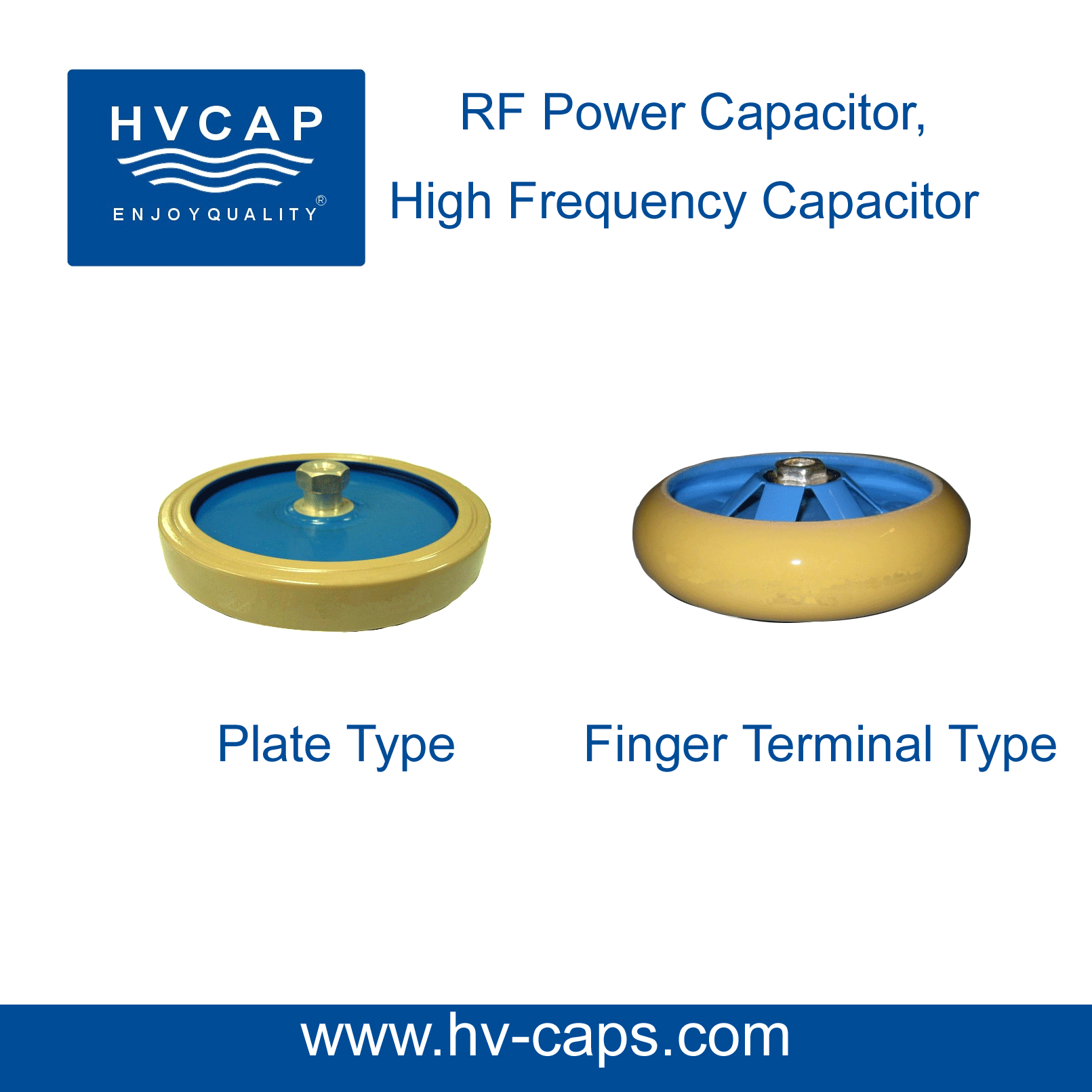 High Frequency RF Power Capacitor, Vishay Draloric RF ceramic capacitor replacement
